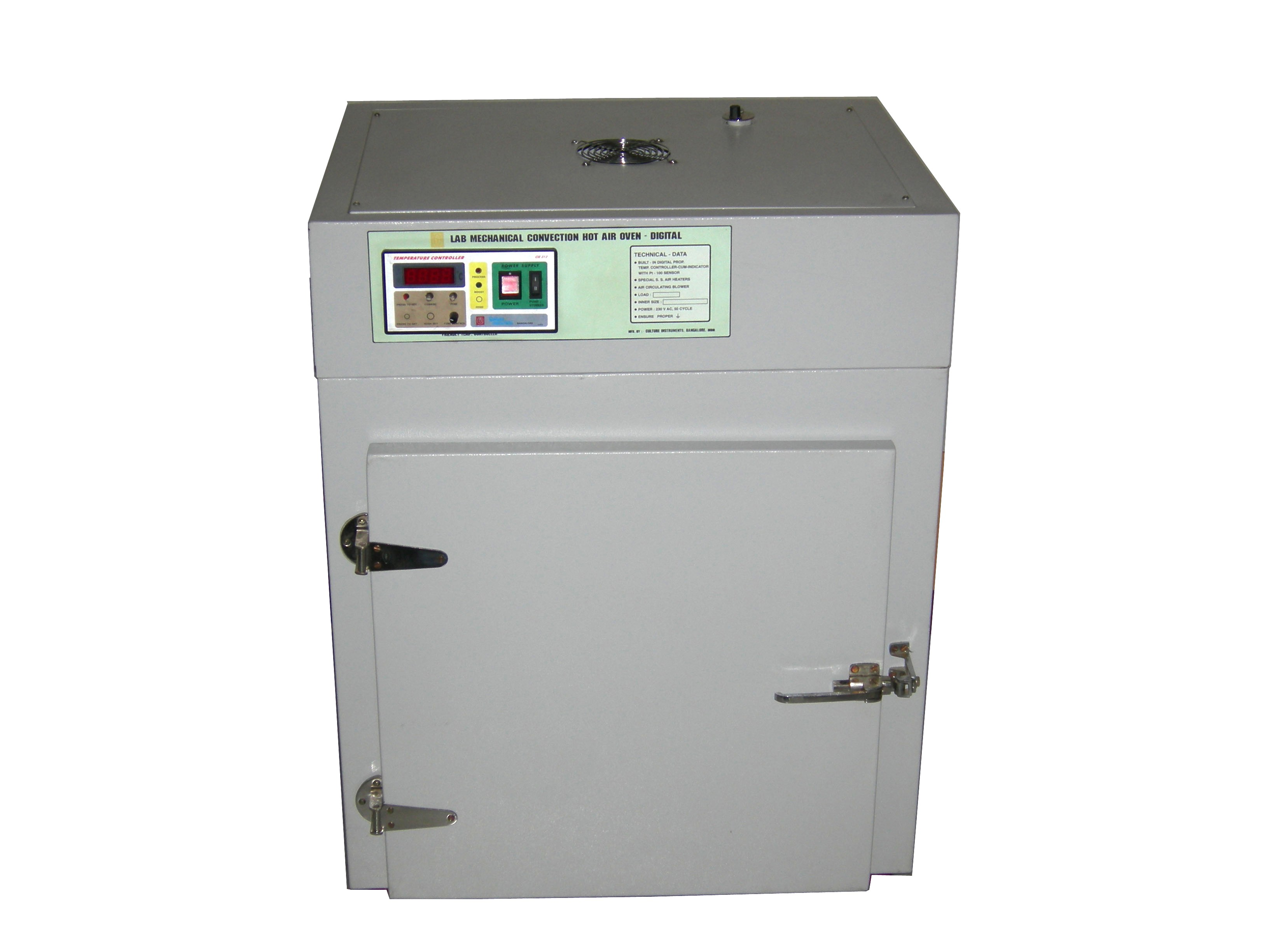 HOT AIR OVEN MECHANICAL CONVECTION(ADVANCED)